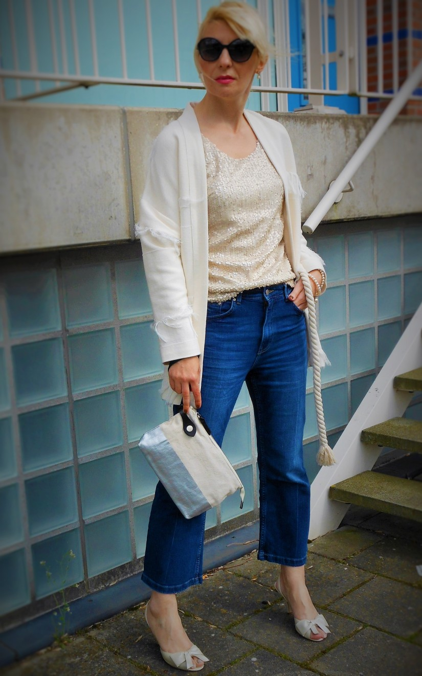 Esprit blazer white, Esprit white blazer, Esprit white coat