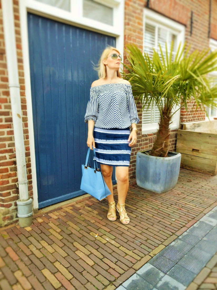 marine look blogger, navy look blogger