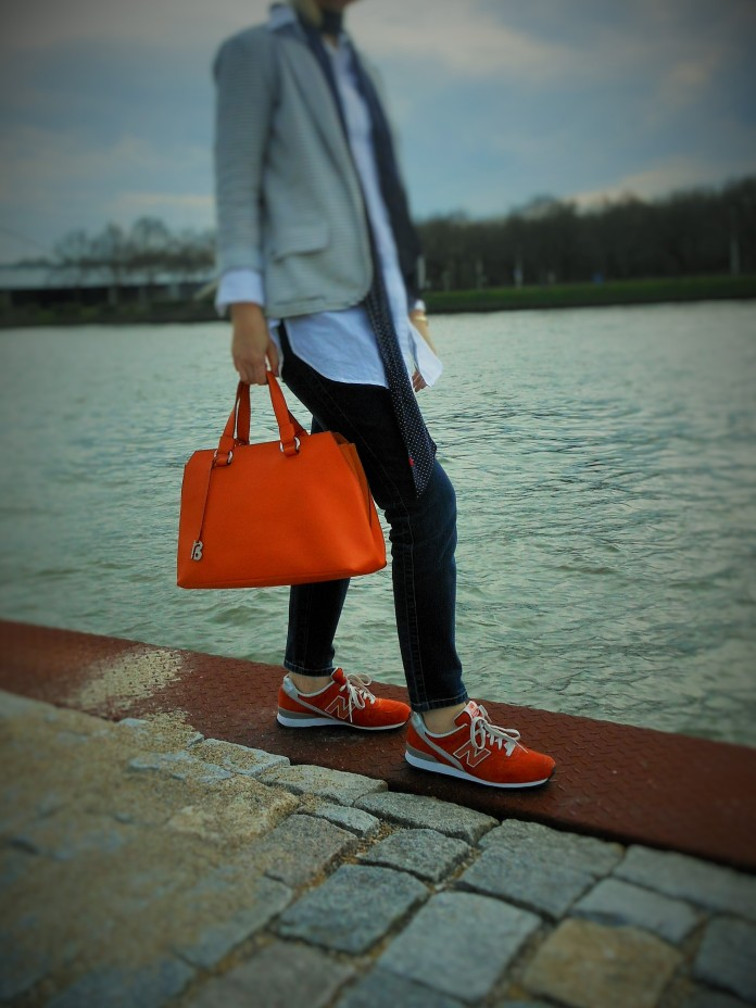 orange accessoires, fashion blog