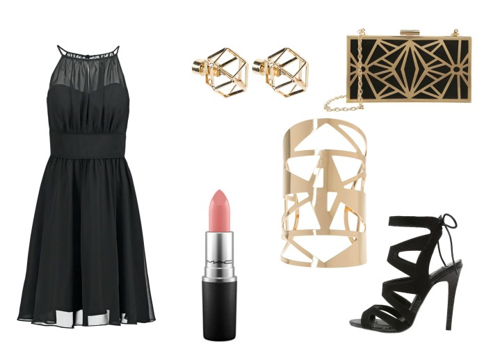 how to wear little black dress, how to wear cocktail dress