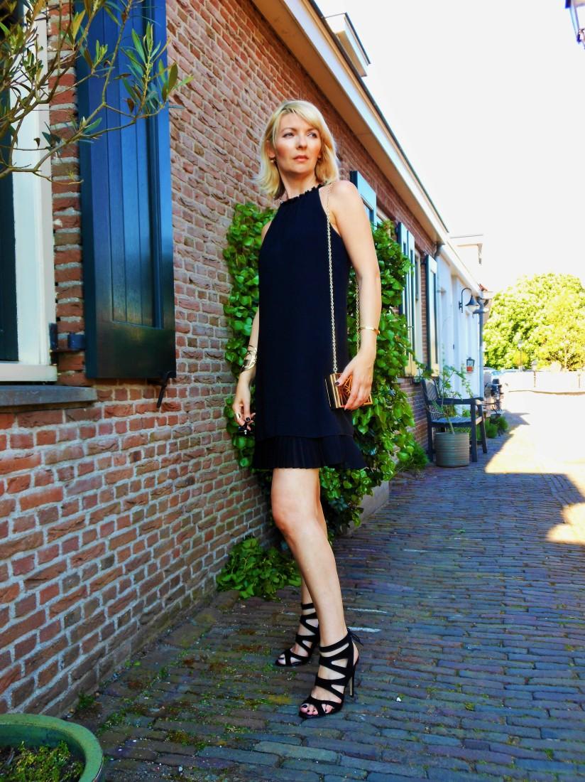 Esprit cocktail black dress