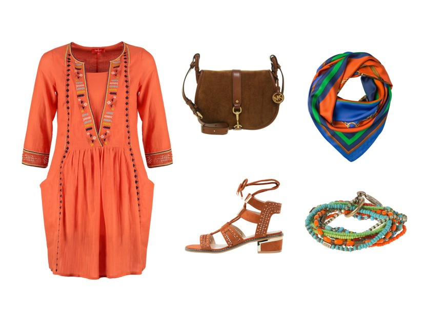 How to wear bohemian style