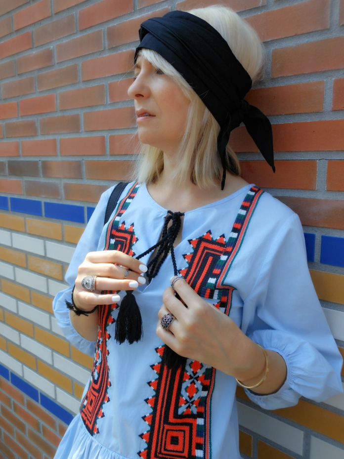 Bohemian dress, Boho dress, Ethnic dress