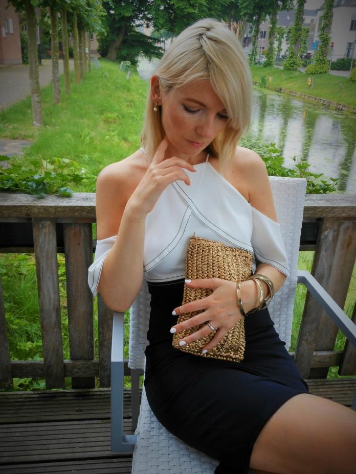 ruffle dress fashion