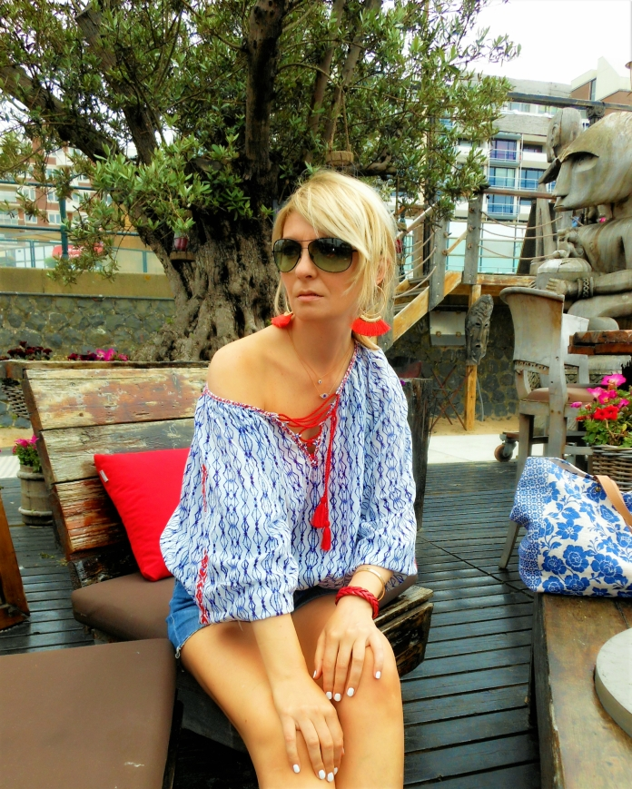 ethnic blouse blogger