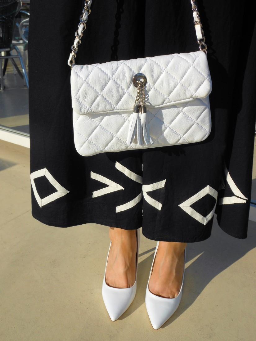 white heels blogger
