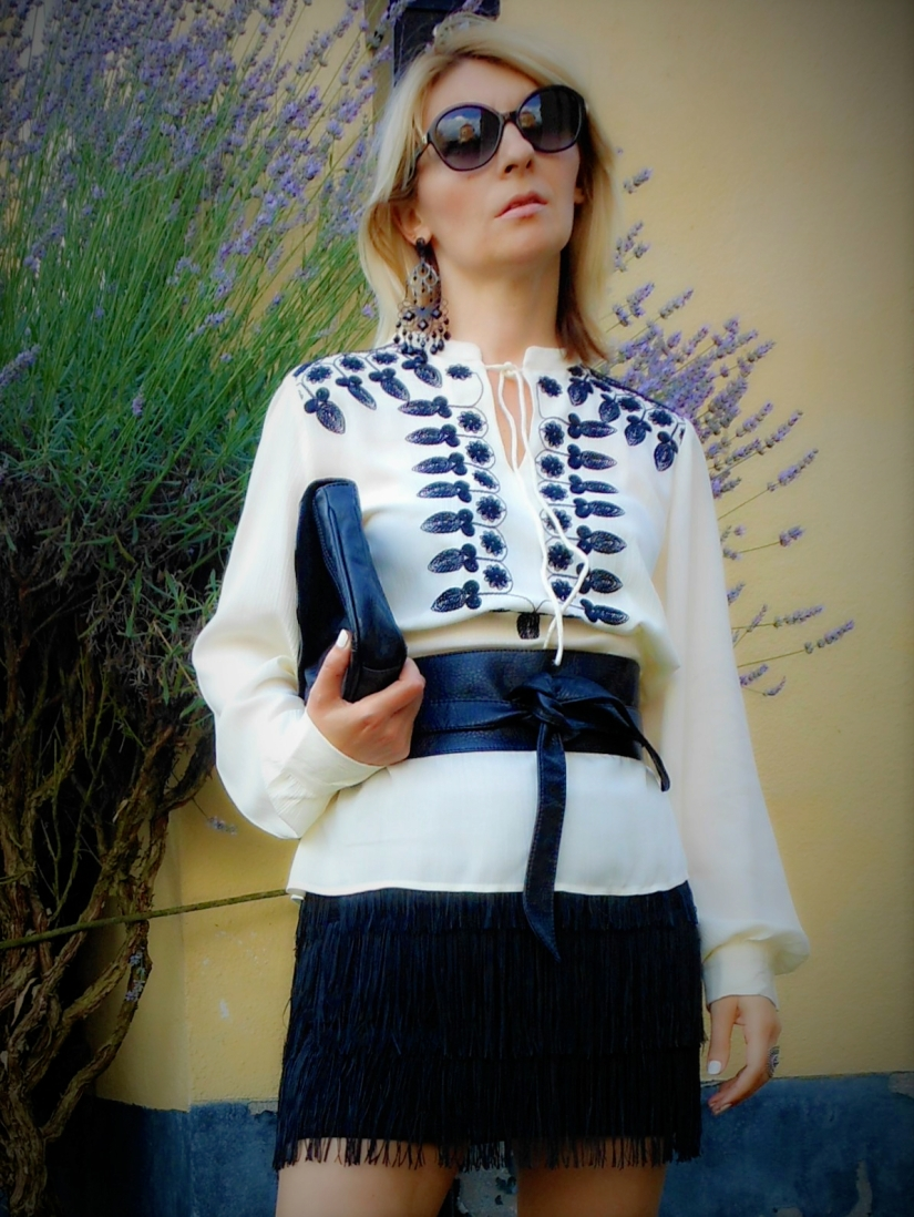 folklore blouse, embroidered blouse, folk trend