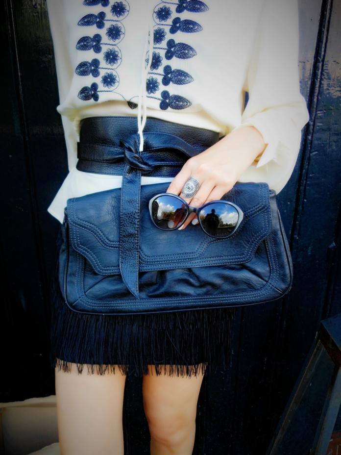 black accessoires fashion blogger