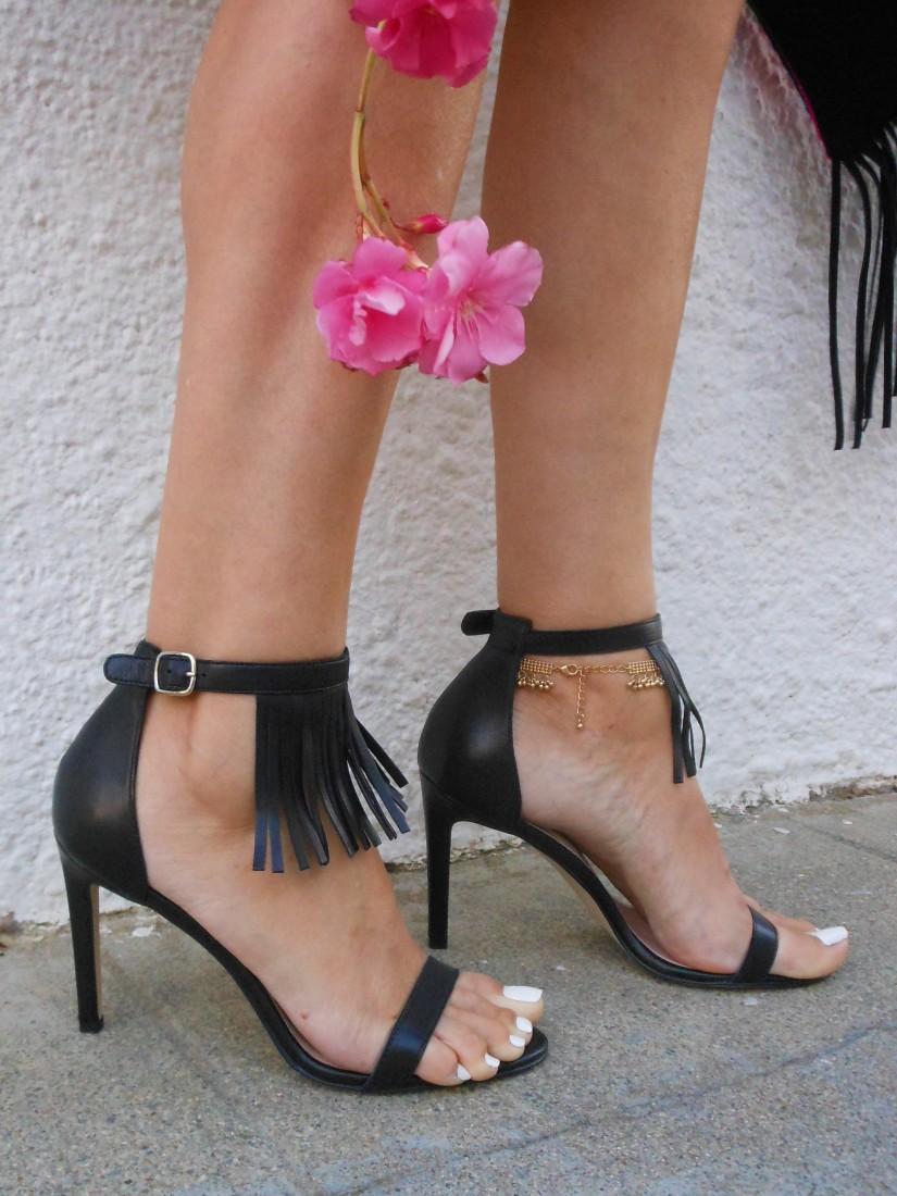 fringe heels, fringe heels blogger