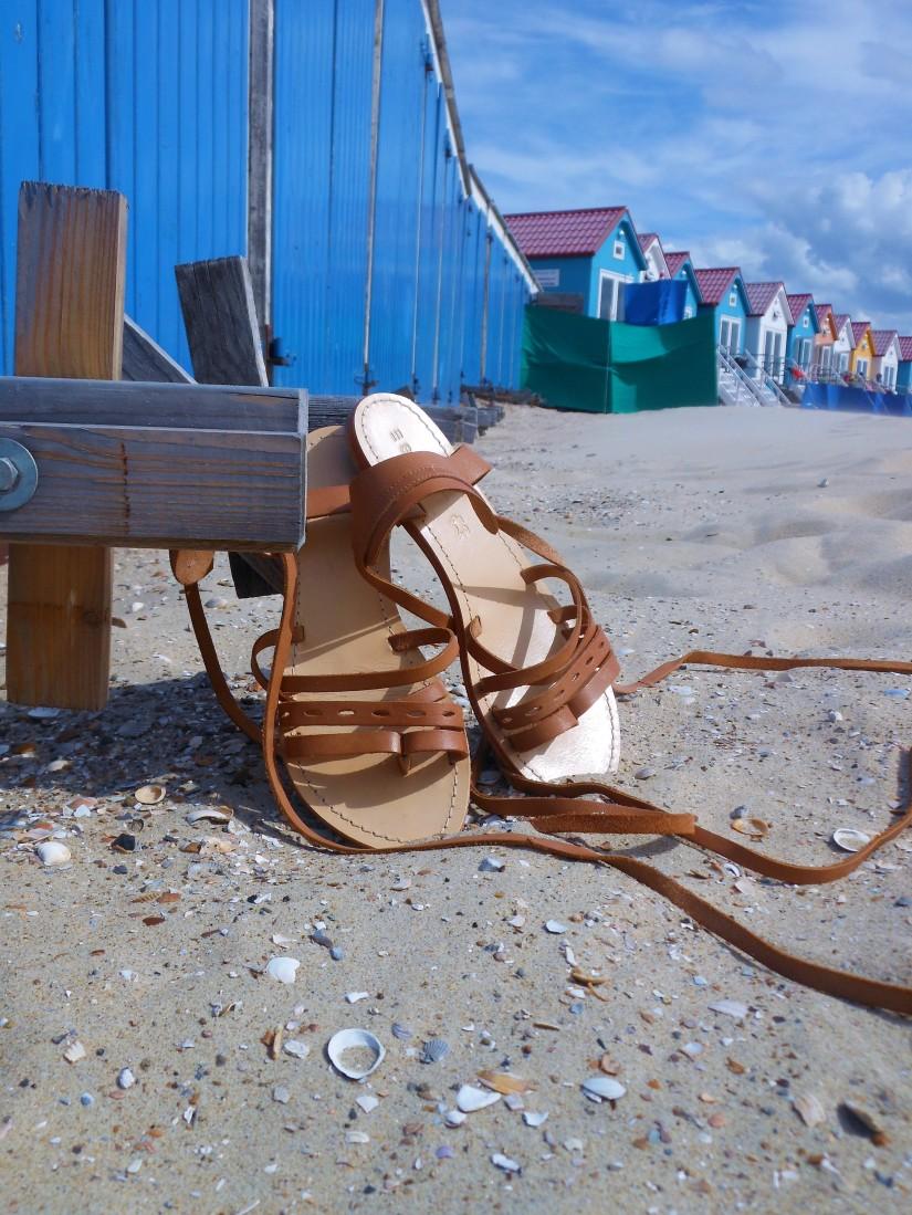 lace-up sandals blogger, lace-up sandals, brown lace-up sandals