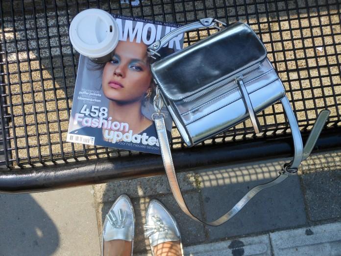 silver bag blogger, silver bag, silver bag even & odd