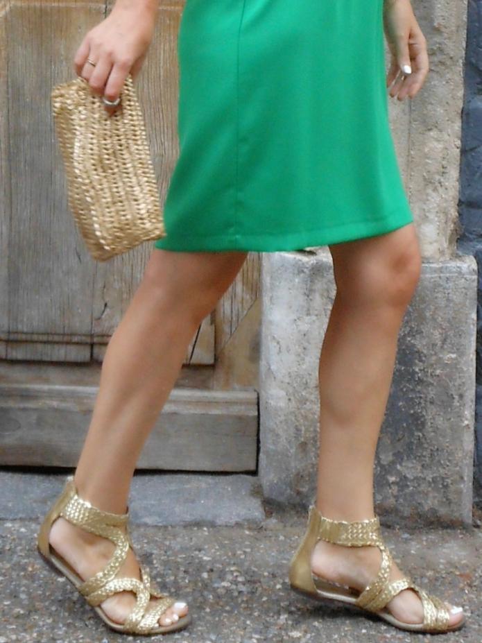 gold sandals, gold clutch, golgen sandals, golden clutch, gold accessoires