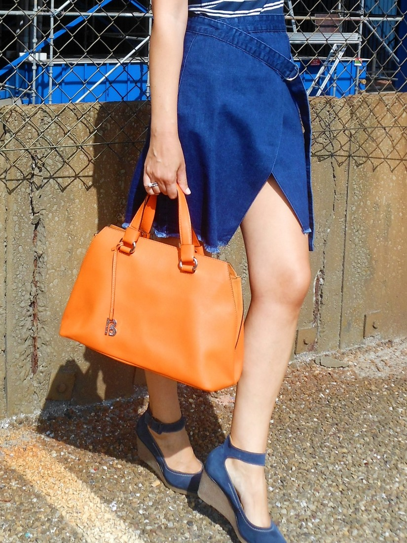 wrap denim skirt, wrap jeans skirt, wrap denim skirt blogger, wrap jeans skirt blogger
