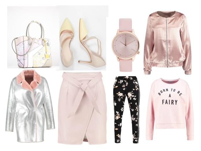 pale pink winter fashion, pale pink fashion, pale pink trend 2016