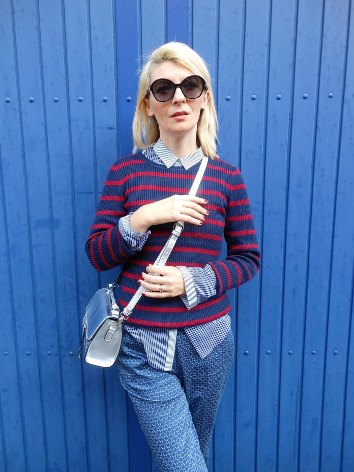 how to wear stripes blogger, how to wear stripes, how to wear stripes pullover blogger, how to wear stripes sweater blogger