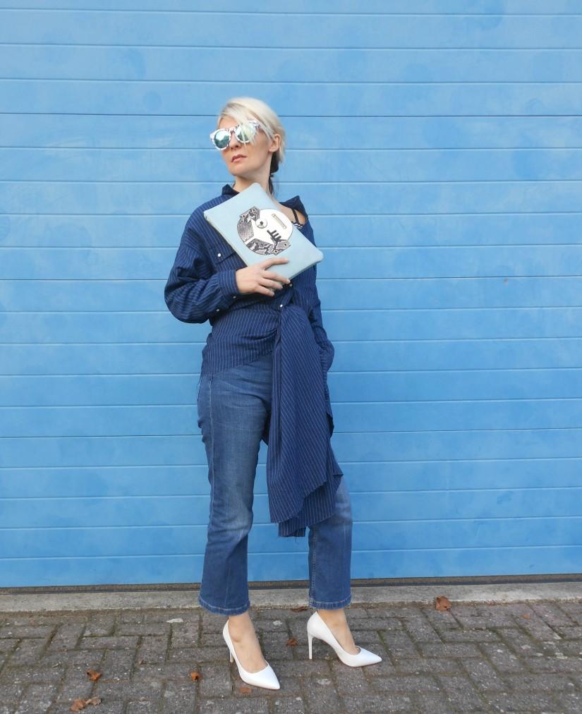 button-down dress blogger, button-down dress, how to wear button-down dress