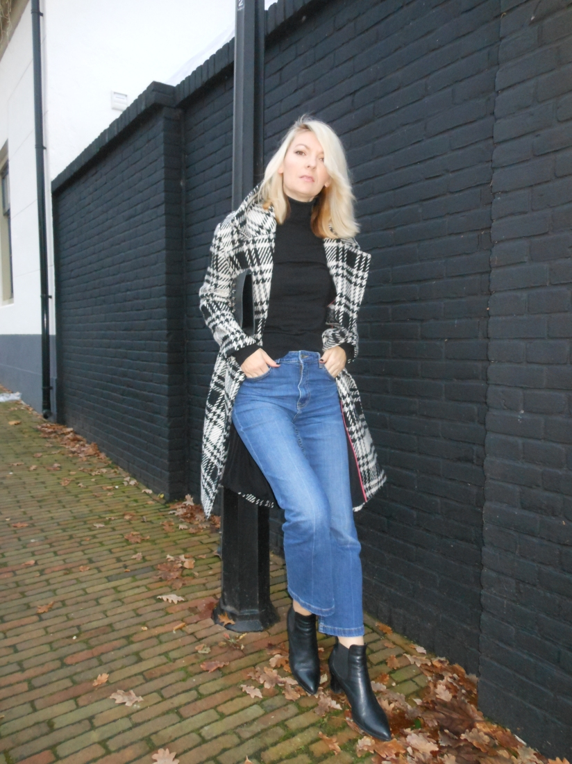 crop jeans blogger, cropped jeans blogger, winter outfit blogger