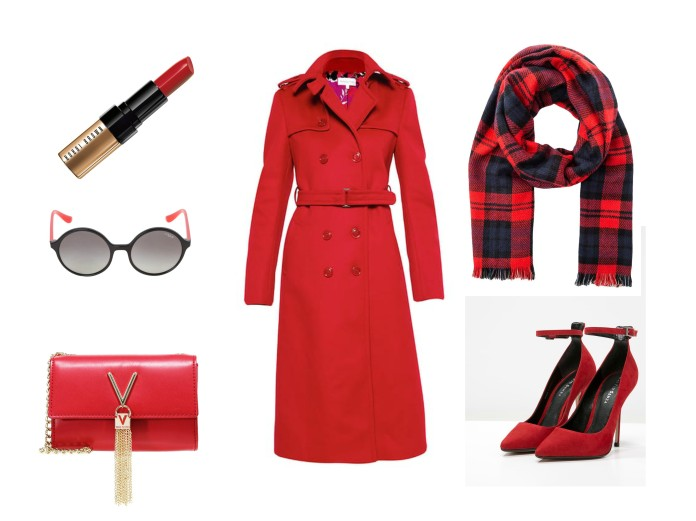 winter outfit ideas blogger, all red outfit blogger, red outfit winter blogger