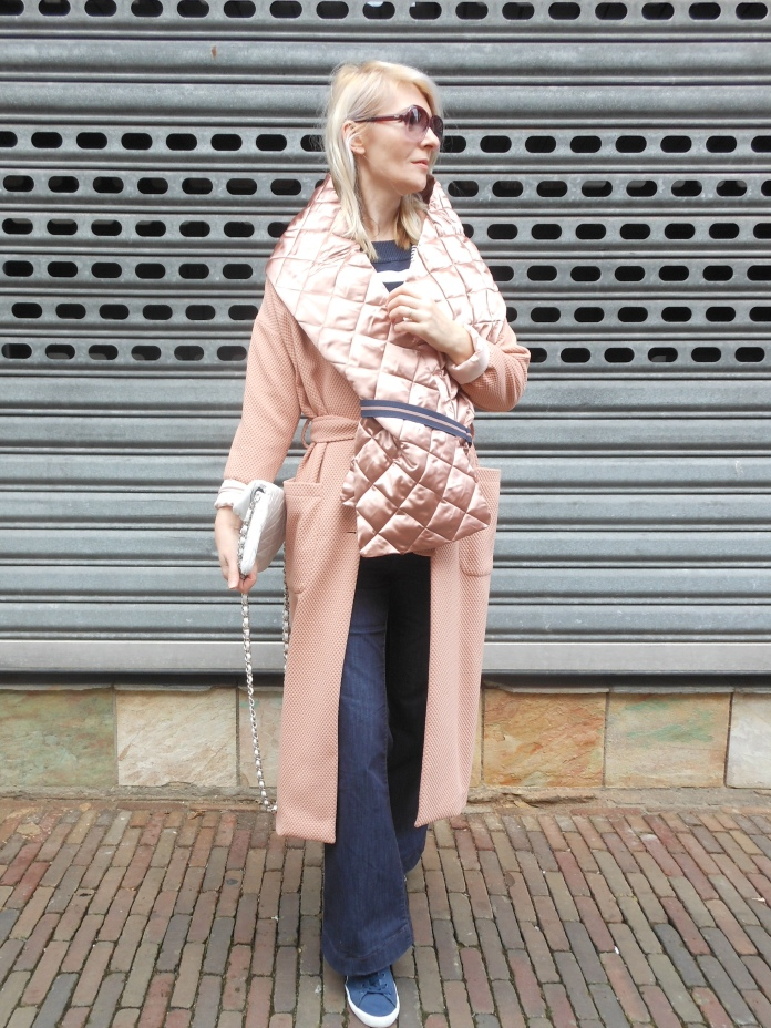 maxi scarf blogger, maxi scarf, quilted scarf, quilted scarf blogger