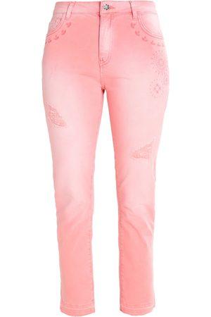 dames-slim-desigual-cyrene-slim-fit-jeans-caramelo